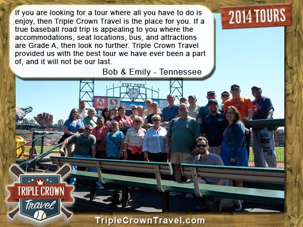 Triple Crown Travel Testimonial